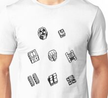 Nether Earth robot parts without title Unisex T-Shirt