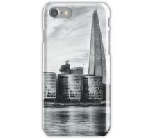 Shard Across the River Thames, London iPhone Case/Skin