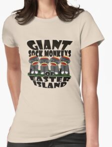 Giant Sock Monkeys of Easter Island T-Shirt