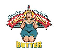 poovey farms butter Photographic Print