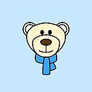 Bertie the Polar Bear Head by Chopsy28