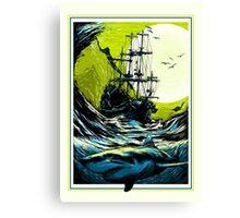 Ancient Seas Canvas Print