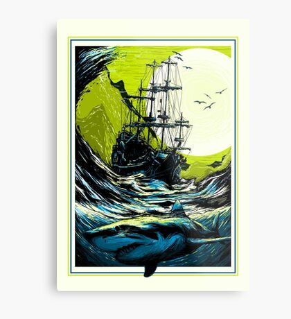 Ancient Seas Metal Print