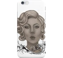 Fair lady iPhone Case/Skin