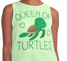 Queen of turtles Contrast Tank