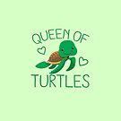 Queen of turtles by jazzydevil