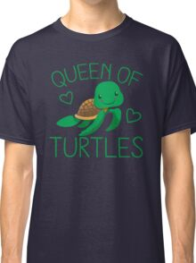 Queen of turtles Classic T-Shirt
