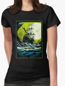 Ancient Seas Womens Fitted T-Shirt