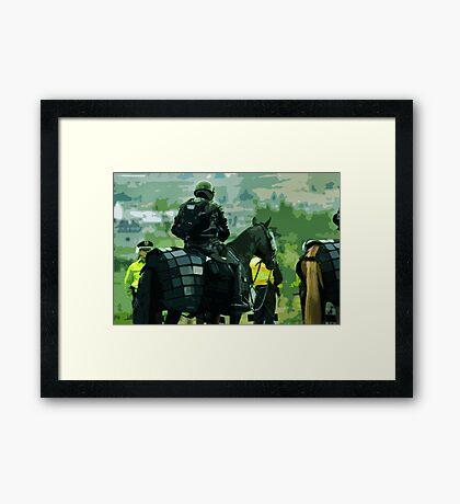 War Horse Framed Print