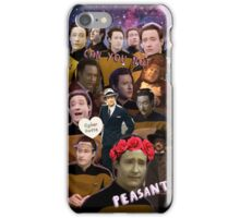 Data just ain't got time for your s**t iPhone Case/Skin