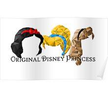 Original Disney Princess Poster