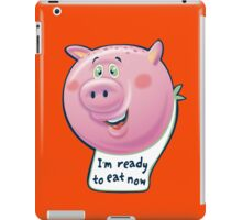 Ready to Eat Now - kids size iPad Case/Skin