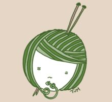 Green Knit girl by tambatoys