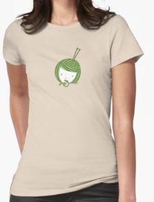 Green Knit girl T-Shirt
