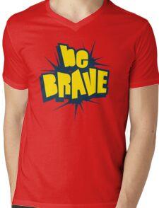 Be Brave Little One - Vintage Pop Culture Inspired T shirt for Men and Women Mens V-Neck T-Shirt
