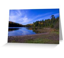 Tooeys Lake..My place of reflection.. Greeting Card