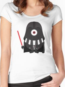 Vader Minion Women's Fitted Scoop T-Shirt