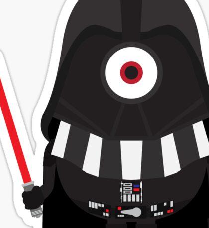 Vader Minion Sticker