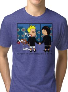 Met Me At A Strange Time Tri-blend T-Shirt