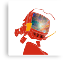 Psychedelic Canti without background Metal Print