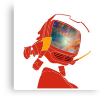 Psychedelic Canti without background Canvas Print