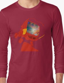 Psychedelic Canti without background Long Sleeve T-Shirt