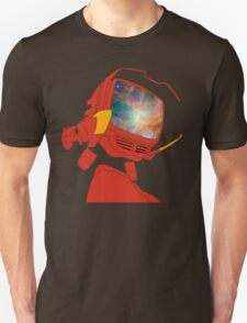 Psychedelic Canti without background Unisex T-Shirt