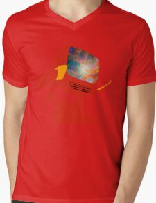 Psychedelic Canti without background Mens V-Neck T-Shirt