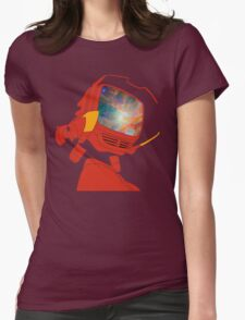 Psychedelic Canti without background Womens Fitted T-Shirt