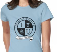 Idris University (transparent rune ver.) Womens Fitted T-Shirt