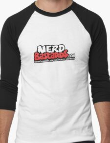 Nerd Bastards.com Logo Tee Men's Baseball ¾ T-Shirt