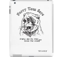 Furry Tom - Last Boy Scout iPad Case/Skin