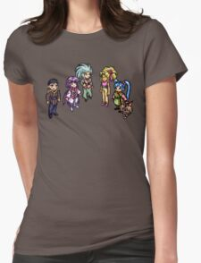 No Need For Graphics! Womens Fitted T-Shirt