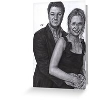 Mr and Mrs Castle Greeting Card