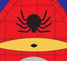 Spiderman Minion Sticker