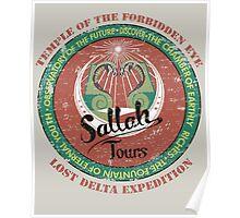 Sallah's Temple Tours Poster
