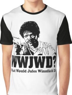 WWJWD What Would Jules Do Graphic T-Shirt