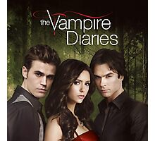 THE VAMPIRE DIARIES COVER Photographic Print