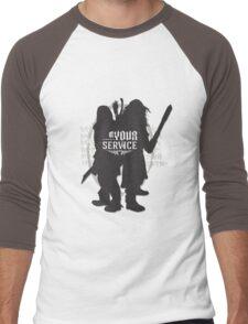 At Your Service Men's Baseball ¾ T-Shirt
