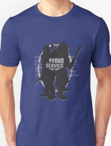 At Your Service Unisex T-Shirt