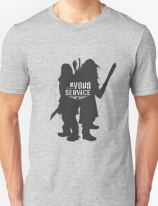 At Your Service T-Shirt