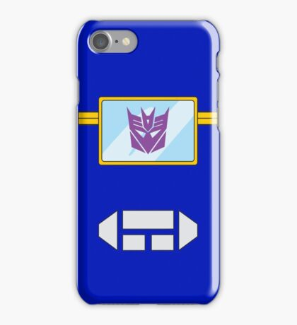Soundwave - Transformers 80s iPhone Case/Skin