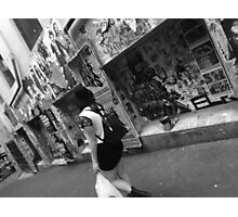 Melbourne city Photographic Print