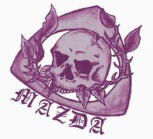 Mazda Skull Rotary Pink by kandikittin