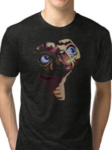E.T. - The Extra terrestrial - Pop Art Tri-blend T-Shirt