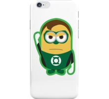 Green Lantern Minion iPhone Case/Skin
