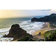 Piha Beach Photographic Print