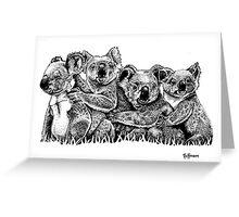 Koalarama Greeting Card