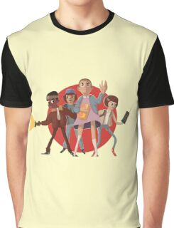 Stranger Things Fun Cartoon Graphic T-Shirt