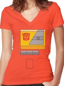Blaster - Transformers 80s Women's Fitted V-Neck T-Shirt